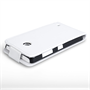 Yousave Accessories Nokia Lumia 625 Leather-Effect Flip Case - White