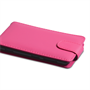 Yousave Accessories Nokia Lumia 625 Leather-Effect Flip Case - Hot Pink
