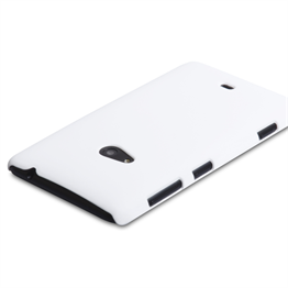Yousave Accessories Nokia Lumia 625 Hard Hybrid Case - White