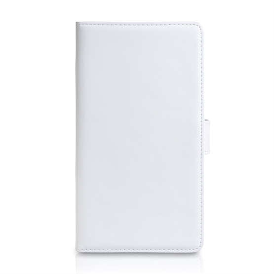 Yousave Accessories Nokia Lumia 1520 Leather-Effect Wallet Case - White