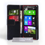 Yousave Accessories Nokia X Leather-Effect Wallet Case - Black