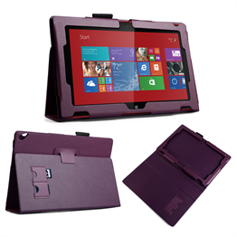 Yousave Accessories Nokia Lumia 2520 Pu Stand Purple Case
