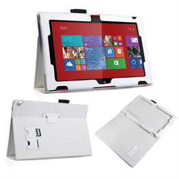 Yousave Accessories Nokia Lumia 2520 Pu Stand White Case