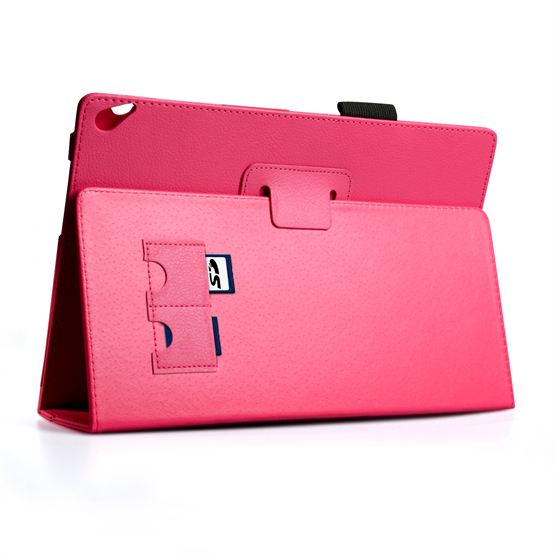 Yousave Accessories Nokia Lumia 2520 PU Stand Hot Pink Case
