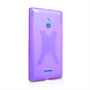 Yousave Accessories Nokia Xl Silicone Gel X-Line Case - Purple