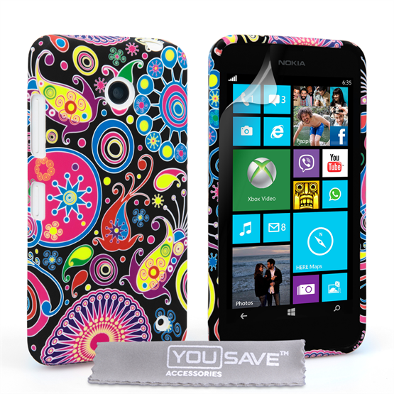 Yousave Accessories Nokia Lumia 630 / 635 Jellyfish Silicone Gel Case
