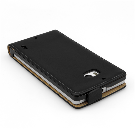 Yousave Accessories  Nokia Lumia 930 Real Leather Flip