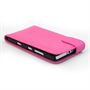 Yousave Accessories Nokia Lumia 930 Leather-Effect Flip Case - Hot Pink