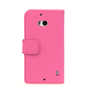 Yousave Accessories Nokia Lumia 930 Leather-Effect Wallet Case - Hot Pink