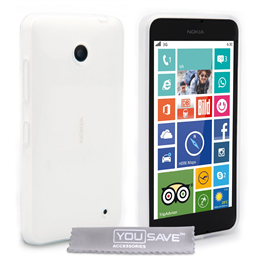 Yousave Accessories Nokia Lumia 635 Crystal Clear Clear Case