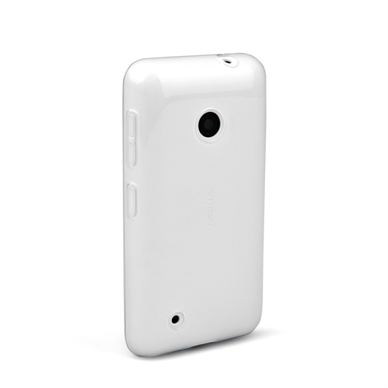 Yousave Accessories Nokia Lumia 530 Silicone Gel Case - Clear