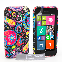 Yousave Accessories Nokia Lumia 530 Jellyfish Silicone Gel Case