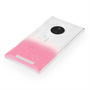 Yousave Accessories Nokia Lumia 830 Raindrop Hard Case - Baby Pink-Clear