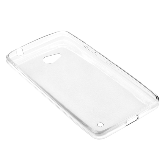 Yousave Accessories Microsoft Lumia 640 0.6mm Clear Gel Case