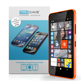 YouSave Accessories Microsoft Lumia 640 Screen Protectors x5