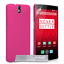 Yousave Accessories One Plus One Hard Hybrid Case - Hot Pink