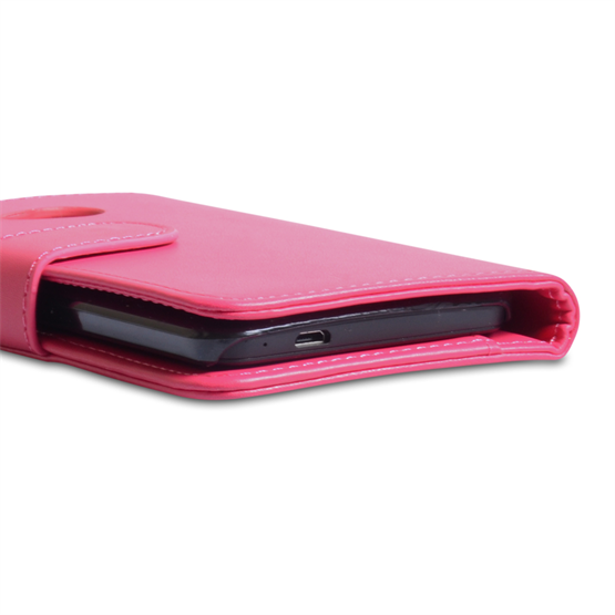 Yousave Accessories HTC One Hot Pink Wallet (Trade)