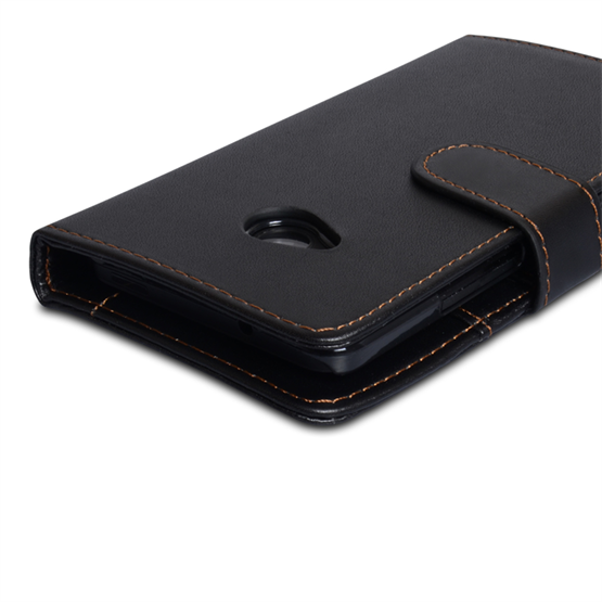 Yousave Accessories HTC One Black Wallet (Trade)