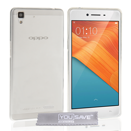 Yousave Accessories Oppo R7 Ultra Thin Clear Gel