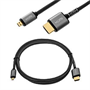 Yousave Accessories Micro HDMI 1.4V – 3 Metre - GOLD PLATED