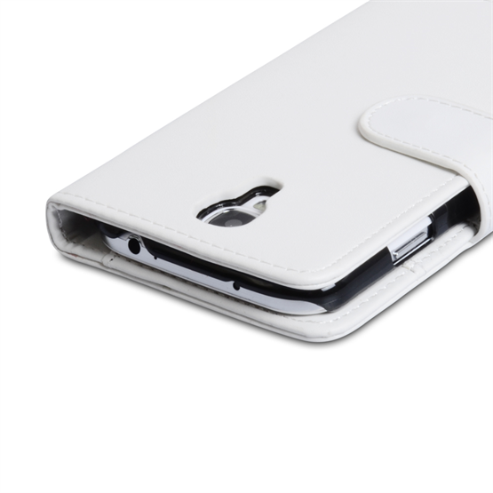 Yousave Accessories Samsung Galaxy S4 Trade PU Wallet White Case