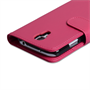 Yousave Accessories Samsung Galaxy S4 Trade PU Wallet Hot Pink Case