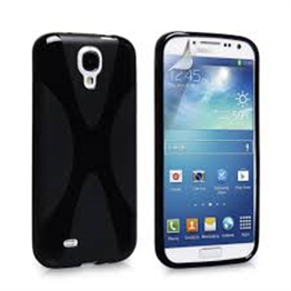 Yousave Accessories Samsung Galaxy S4 Trade X-Line Black Case
