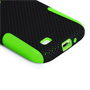 Yousave Accessories Samsung Galaxy S4 Trade Mesh Combo Green Case