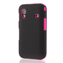 Yousave Accessories Samsung Galaxy Ace S5830 Dual Hybrid Hot Pink Case