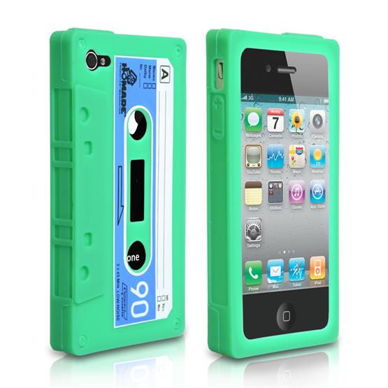Yousave Accessories Samsung Galaxy I9100 Cassette Green Case