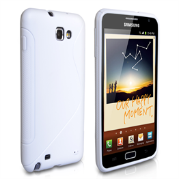 Yousave Accessories Samsung Galaxy Note White S Line