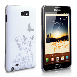 Yousave Accessories Samsung Galaxy Note IMD White Case