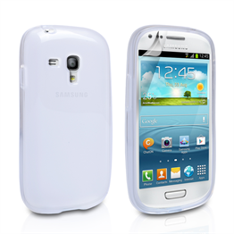 Yousave Accessories Samsung Galaxy Mini IMD White Case