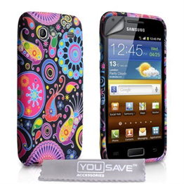 Yousave Accessories Samsung Galaxy Advance Jellyfish Case