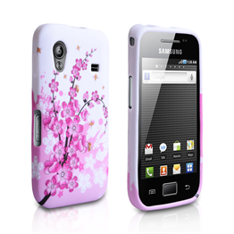 Yousave Accessories Samsung Galaxy Ace Floral Bee Pink Case