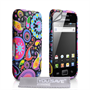 Yousave Accessories Samsung Galaxy Ace Jellyfish Multicoloured Case