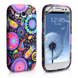 Yousave Accessories Samsung Galaxy S3 Jellyfish Silicone Gel Case