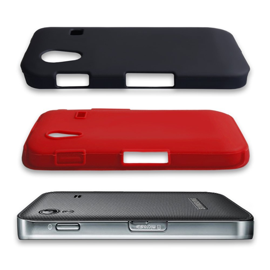 Yousave Accessories Samsung Galaxy Ace Dual Combo Red