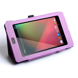 Yousave Accessories Google Nexus 7 Stand Purple Case