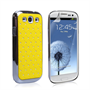 Yousave Accessories Samsung Galaxy S3 Yellow Diamond Bling Case