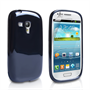 Yousave Accessories Samsung Galaxy S3 Mini Gel Black Case