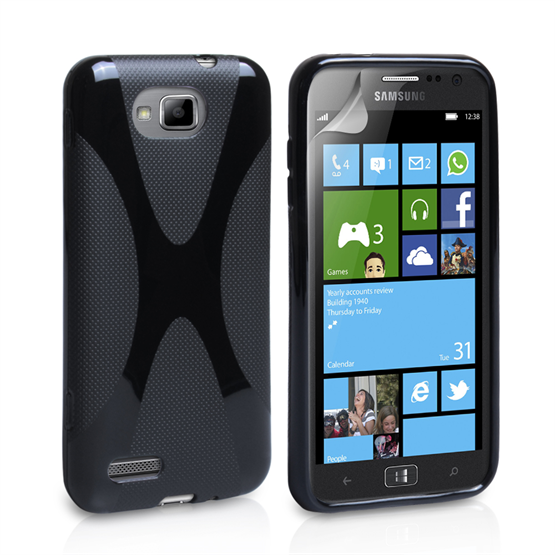 Yousave Accessories Samsung Galaxy Ativ S X-Line Black Case