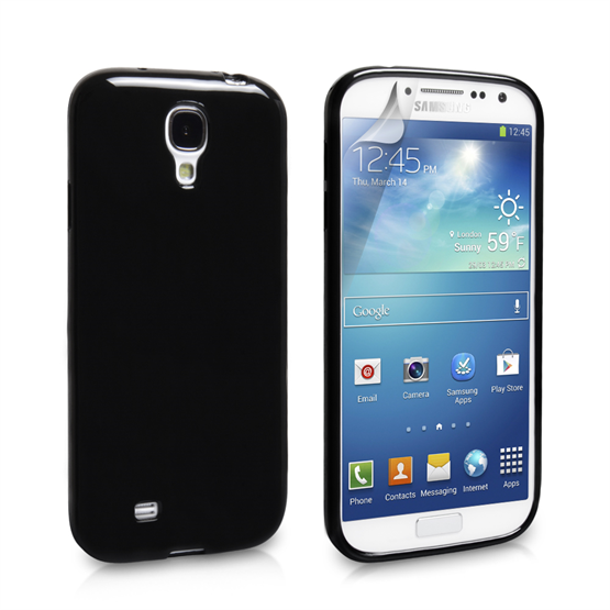 Yousave Accessories Samsung Galaxy S4 Gel Case - Black