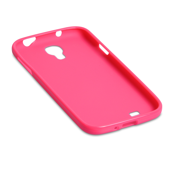 Yousave Accessories Samsung Galaxy S4 Gel Pink Case