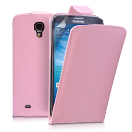 Yousave Accessories Samsung Galaxy Mega 6.3 PU Flip Baby Pink Case