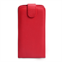 Yousave Accessories Samsung Galaxy Mega 6.3 PU Flip Red Case