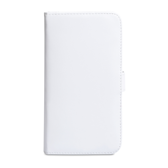 Yousave Accessories Samsung Galaxy Mega 6.3 PU Wallet White Case