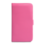 Yousave Accessories Samsung Galaxy Mega 6.3 PU Wallet Hot Pink Case