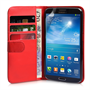 Yousave Accessories Samsung Galaxy Mega 6.3 Red PU Leather Wallet