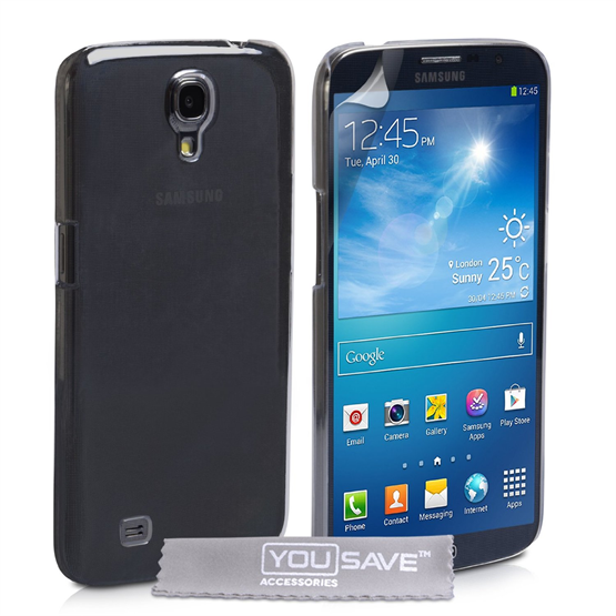 Yousave Accessories Samsung Galaxy Mega 6.3 Crystal Clear Case